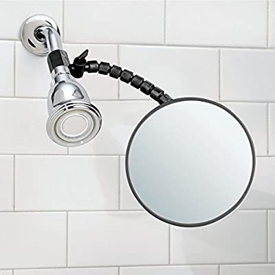 Amazoncom Mdesign Deluxe Fog Free Bathroom Shower Adjustable