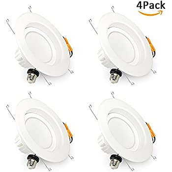 Brizled 5 /6 Inch Dimmable Recessed LED Downlight Retrofit LED Recessed Lighting  sc 1 st  Amazon.com & Sunco Lighting 12 PACK - 13W 5/6inch Dimmable LED Retrofit ... azcodes.com