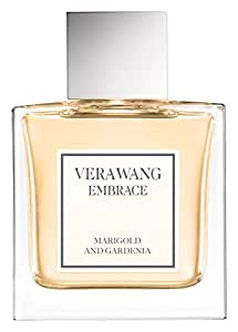 Vera Wang Embrace Eau de Toilette, Marigold and Gardenia, 1 Fluid Ounce