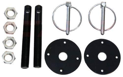 - Big Dog Black Hood Pin Kit - Flip-Over Style