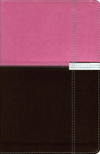 NIV Life Application Study Bible, Personal Size, Italian Duo-Tone, Orchid/Chocolate 1984 (Imitation Orchids)