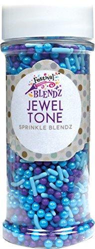 Festival Jewel Tone Sprinkle Blendz, Assorted Colors, 4.8 oz. Jar]()