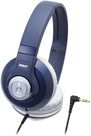 audio-technica STREET MONITORING Portable Headphone ATH-S500 NV Navy
