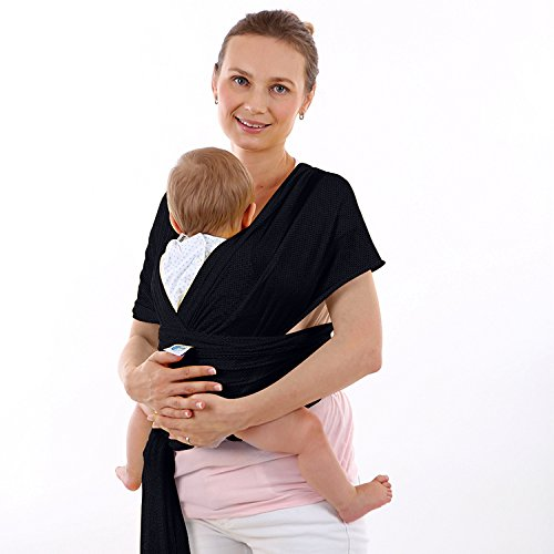 Amazon Com Baby Wrap Carrier For Newborn And Infant Baby Water