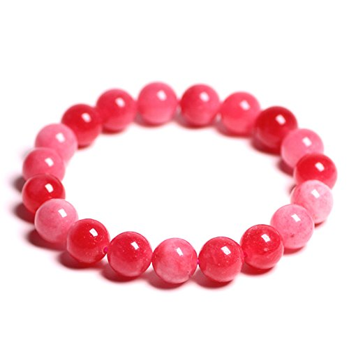 GTVERNH-Natural Red Chalcedony Bracelet Female Single Ring Crystal Bracelets Transport Jewelry Gifts8Mm