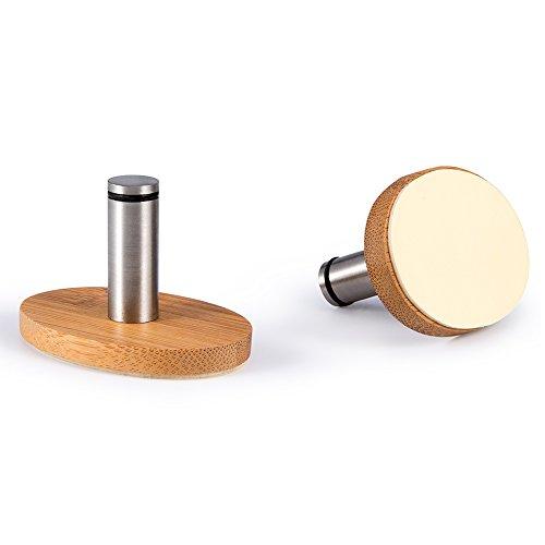 Metal Epoxy Heavy Duty : Oak leaf adhesive hooks pcs heavy duty wood stainless