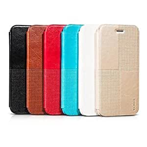 SOL HOCO Crystal Series Crystal Grain Retro PU Leather Case for iPhone 6(Assorted Colors) , White