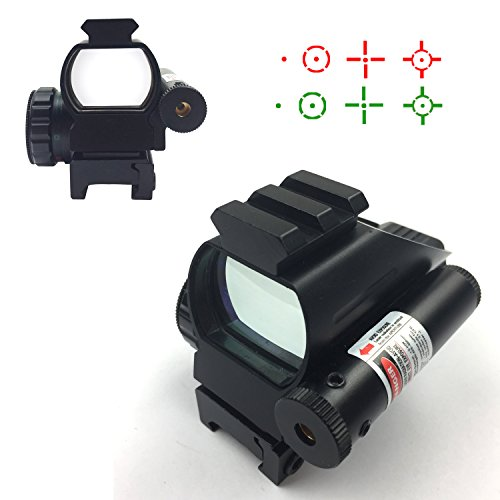 Twod Red Dot Reflex Sight Holographic Sight 4 Reticles Adjus