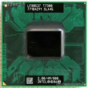 - NEW Intel Core 2 Duo Mobile T7300 Cpu 2.0/4m/800 SLA45