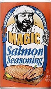 Seas Salmon Magic (Pack of 6) ()
