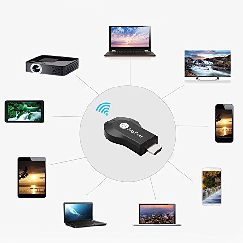 Wireless WIFI Display Dongle,Hiija High Speed HDMI Miracast Dongle, DLNA AirPlay for Android Smartphone Tablet Apple iPhone iPad by Hiija (Image #6)