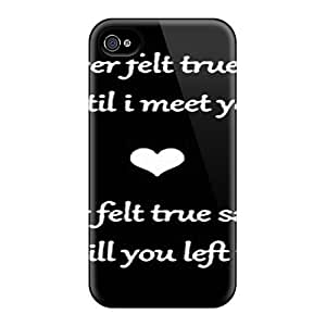New Style DustinHVance Hard Case Cover For Iphone 4/4s- True Love