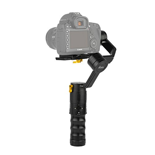Ikan DS2-A Beholder Angled 3-Axis Gimbal Stabilizer with Encoders for DSLR & Mirrorless Cameras, Black