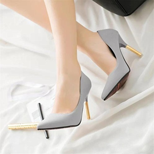 hauts pengweiChaussures fines chaussures antid¨¦rapantes et pointues ¨¤ 2 talons qrxgrE