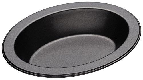 Kitchencraft Masterclass Non-stick Small Oval Individual Pie Dish, 13.5cm (5.5