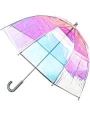 totes Kids Clear Bubble Umbrella with Easy Grip Handle
