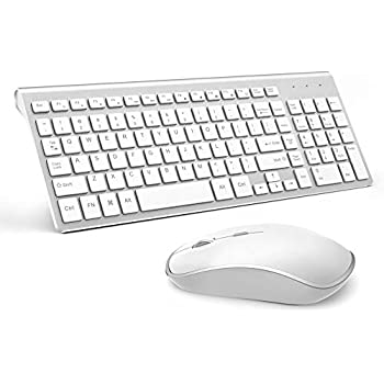 wireless keyboard and mouse combo j joyaccess 2 4g slim wireless keyboard mouse. Black Bedroom Furniture Sets. Home Design Ideas