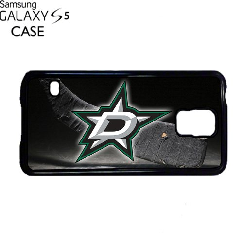 (Stars Hockey Samsung Galaxy S5 PLASTIC cell phone Case / Cover Great Gift Idea Dallas)