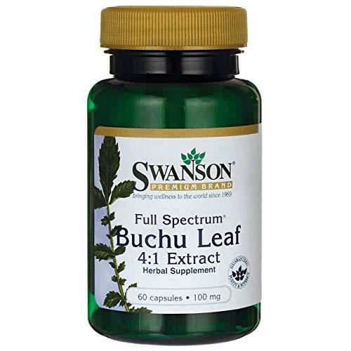 Swanson Full Spectrum Buchu Leaf 4:1 Extract 100 Milligrams 60 Capsules (Buchu Leaves)