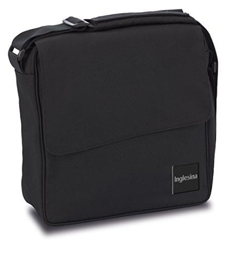Inglesina Quad/Trilogy City Diaper Bag, Total Black
