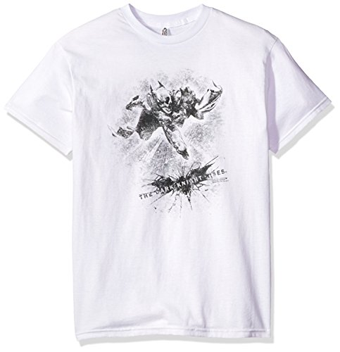 Trevco Men's Batman Dark Knight Rises Penciled T-Shirt at Gotham City Store