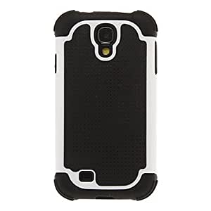SHOUJIKE Two Layers Football Line Pattern Unique Design PC and Silicone Back Case Cover for Samsung Galaxy S4 I9500