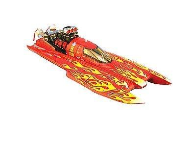 BAD 1/18 Scale TFH0606 Doug Verstuyft's Nitro Chicken Top Fuel Hydro Drag Boat B003L2KJBY