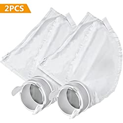 Gifort Pool Cleaner Parts Compatible Zipper Replacement Bags Fits for Polaris 280/480 Pool Cleaner All Purpose Filter Bag K13/ K16 (2 Pack)