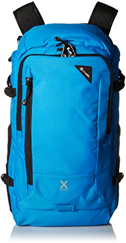 Price comparison product image Pacsafe Venturesafe X30 Anti-Theft Adventure Backpack, Hawaiian Blue
