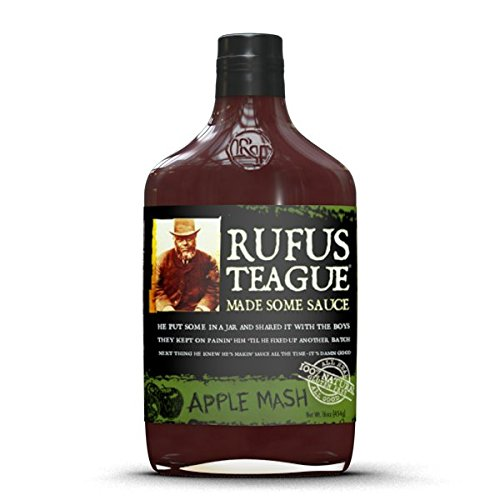 Rufus Teague Apple Mash BBQ Sauce, 16 Oz Flask