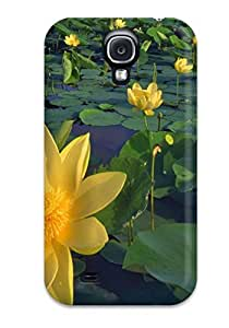 Galaxy S4 Case Slim [ultra Fit] Earth Flower Protective Case Cover