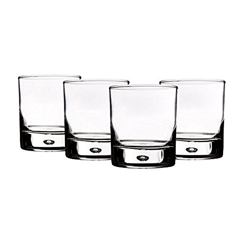 - Home Essentials Red Series 10 Oz. Bubble-bottomed Round Cut Drinking Glasses, Set of 8