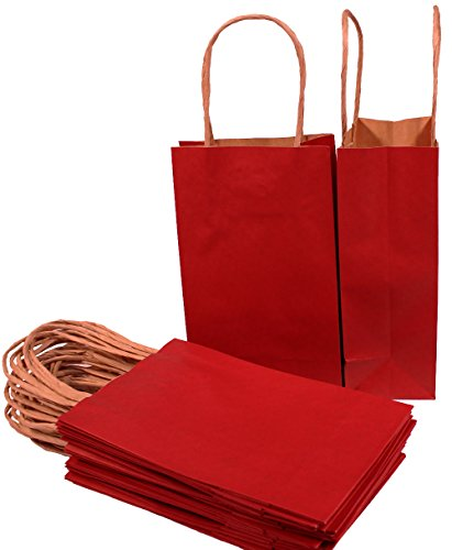 Creative Hobbies Small Paper Gift Handle Bags, 5.25