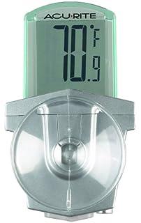 AcuRite 00799HDSBA1 00799 Digital Outdoor Window Thermometer