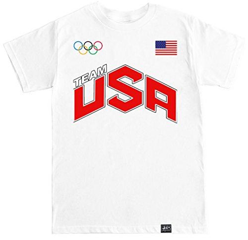 FTD Apparel Men's USA T Shirt - XXL - Apparel Swimming Olympic