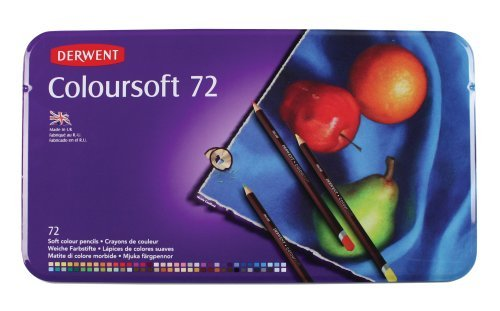 Derwent Colored Pencils Drawing Colorsoft product image
