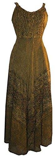 105 D Robe Sans Manches De Mariage Agan Commerçants Empire Fête D'été D'olive