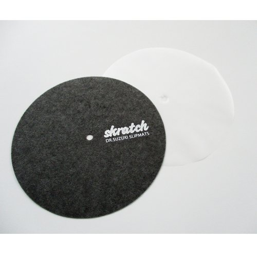 Dr Suzuki 7 Inch Scratch Slipmat con slipsheet