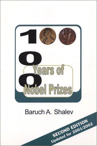 100 Years of Nobel Prizes pdf epub