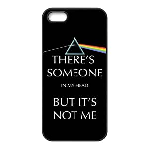 Danny Store 2015 New Arrival TPU Rubber Coated Phone Case Cover for iPhone 5 / 5S - Pink Floyd