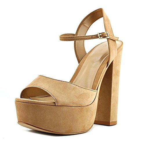 Aldo Women's Kostas Platform Dress Sandal, Natural, 8 B US