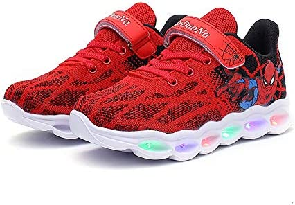 Spider Man Light up Breathable Bottom Sneakers product image