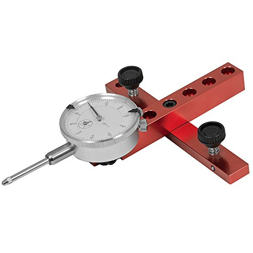 A-Line It Basic Kit with Dial Indicator For Aligning and Calibrating Work Shop Machinery Like Table Saws, Band Saws and Drill Presses