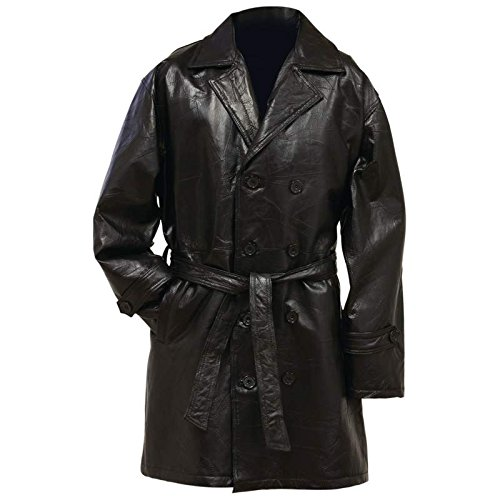 Exclusive Coats Incomparable Apparel Gen Lth Mid Trench Coat - 2X (Zippo Trench Lighter)