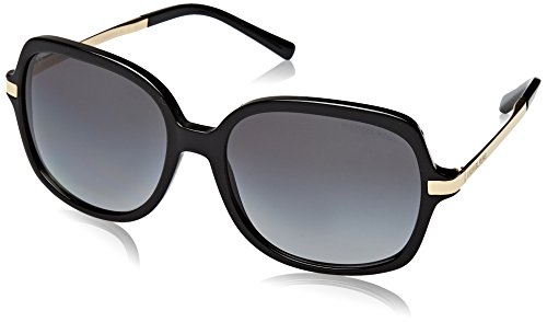 Michael Kors MK2024 3160T3 Black / Gold Adrianna II Butterfly Sunglasses - Sunglasses Pola
