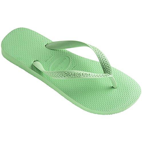 Womens Havaianas Top Rubber Casual Beach Shoes Thongs Brazil Flip Flops Pistachio