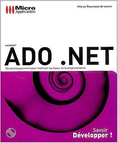 Livre Audio A Telecharger Gratuitement Ado Net In French Pdf