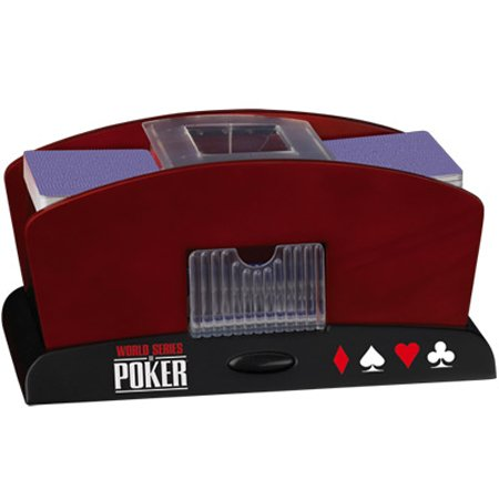 World Series Of Poker Wooden Pro Shuffle by Excalibur