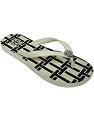 Tory Burch Reva Flip Flops Sandals Flat Rubber Style 90008651