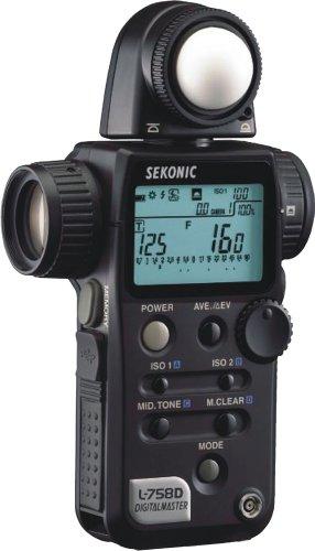Sekonic L-758D DigitalMaster Light Meter ()